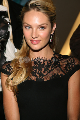MEXICO CITY, MEXICO - AUGUST 29: Model Candice Swanepoel attends a press conference during the Liverpool Fashion Fest Autumn/Winter 2012 at Liverpool Polanco on August 29, 2012 in Mexico City, Mexico Photo: © Francisco Morales/DAMM Photo/NortePhoto/MediaPunch Inc. ***FOR USA ONLY***