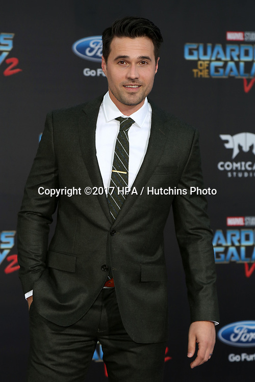"LOS ANGELES - APR 19:  Brett Dalton at the ""Guardians of the Galaxy Vol. 2"" Los Angeles Premiere at the Dolby Theater on April 19, 2017 in Los Angeles, CA"
