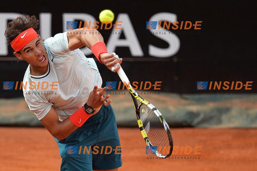 Rafael Nadal Spain .Roma 16/05/2013 Foro Italico .Tennis Internazionali d'Italia 2013 .Foto Andrea Staccioli Insidefoto
