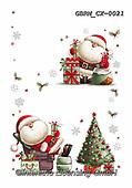 Roger, CHRISTMAS SANTA, SNOWMAN, WEIHNACHTSMÄNNER, SCHNEEMÄNNER, PAPÁ NOEL, MUÑECOS DE NIEVE, paintings+++++,GBRMCX-0021,#x#