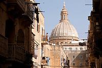 Basilica of Our Lady of Mount Carmel, Valletta, Malta