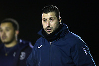 Ilford manager Jon Fowell during Redbridge vs Ilford, Essex Senior League Football at Oakside Stadium on 10th January 2020