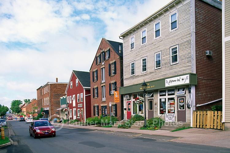 Charlottetown, PEI, Prince Edward Island, Canada - Shops on Water Street