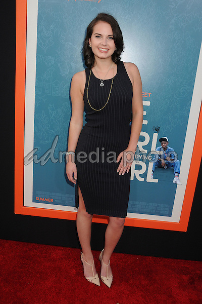 "3 June 2015 - West Hollywood, California - Arden Rose. ""Me And Earl And The Dying Girl"" Los Angeles Premiere held at the Harmony Gold Theatre. Photo Credit: Byron Purvis/AdMedia"
