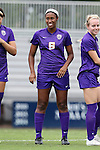 14 September 2014: LSU's Christyna Pitre. The Duke University Blue Devils hosted the Louisiana State University Tigers at Koskinen Stadium in Durham, North Carolina in a 2014 NCAA Division I Women's Soccer match. Duke won the game 1-0.