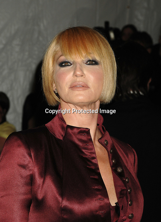 Ellen Barkin ..arriving at The Metropolitan Museum of Art's Costume Institute Gala on May 7, 2007 in New York City. The Gala celebrates the exhibition: Poiret: King of Fashion..Robin Platzer, Twin Images......212-935-0770