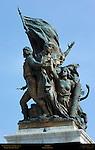 Action Francis Jerace Victor Emmanuel II Monument Piazza Venezia Rome