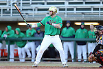 CARY, NC - MARCH 03: Notre Dame's Ryan Lidge. The University of Maryland Terrapins played the University of Notre Dame Fighting Irish on March 3, 2017, at USA Baseball NTC Stadium Field in Cary, NC in a Division I College Baseball game, and part of the Irish Classic tournament. Maryland won the game 4-3.