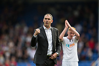 Swansea City manager Paul Clement celebrates his sides victory      <br /> <br /> <br /> Photographer Craig Mercer/CameraSport<br /> <br /> The Premier League - Crystal Palace v Swansea City - Saturday 26th August 2017 - Selhurst Park - London<br /> <br /> World Copyright &copy; 2017 CameraSport. All rights reserved. 43 Linden Ave. Countesthorpe. Leicester. England. LE8 5PG - Tel: +44 (0) 116 277 4147 - admin@camerasport.com - www.camerasport.com