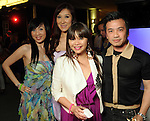 From left: Connie Wong, Mandy Kao, Chloe Dao and Viet Hoang at the Simon Fashion Now event at the Houston Galleria Thursday April 14,2011.(Dave Rossman/For the Chronicle)