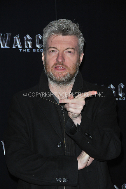 WWW.ACEPIXS.COM<br /> <br /> May 25 2016, London<br /> <br /> Charlie Brooker arriving at a special screening of 'Warcraft: The Beginning' at BFI IMAX on May 25, 2016 in London, England<br /> <br /> By Line: Famous/ACE Pictures<br /> <br /> <br /> ACE Pictures, Inc.<br /> tel: 646 769 0430<br /> Email: info@acepixs.com<br /> www.acepixs.com
