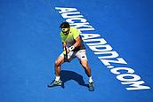10th January 2018, ASB Tennis Centre, Auckland, New Zealand; ASB Classic, ATP Mens Tennis;  David Ferrer (ESP) during the ASB Classic ATP Men's Tournament Day 3