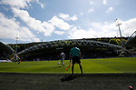 General view of the stadium during the English Championship play-off 1st leg match at the John Smiths Stadium, Huddersfield. Picture date: May 13th 2017. Pic credit should read: Simon Bellis/Sportimage