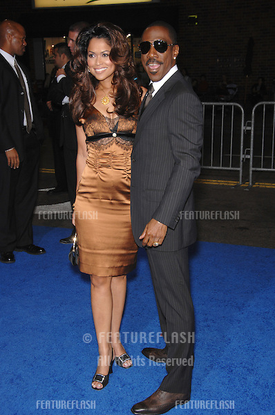"Eddie Murphy & Tracey Edmonds at the Los Angeles premiere of ""Good Luck Chuck"" at the Mann National Theatre, Westwood, CA..September 20, 2007  Los Angeles, CA.Picture: Paul Smith / Featureflash"
