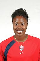 Nandi Pryce, U.S. Under 21 Women's National Team Training Camp, Home Depot Center, Carson, CA. May 24, 2005