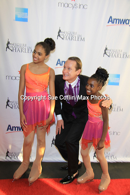 Carson Kressley - The 2013 Skating with the Stars- a benefit gala for Figure Skating in Harlem on April 8, 2013 at Trump Wollman Rink, New York City, New York. (Photo by Sue Coflin/Max Photos)