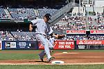 Masahiro Tanaka (Yankees), SEPTEMBER 13, 2015 - MLB : Masahiro Tanaka of the New York Yankees covers first base in the third inning during the Major League Baseball game against the Toronto Blue Jays at Yankee Stadium in the Bronx, New York, United States. (Photo by Hiroaki Yamaguchi/AFLO)