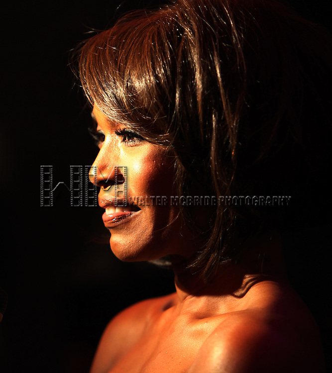 Angela Bassett.attending the Opening Night Performance After Party for 'The Mountaintop' at eSpace in New York City.