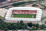 Aerial Image of Rotherham United Ground, AESSEAL New York Stadium Rotherham <br />