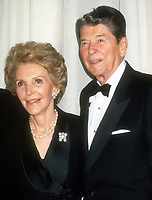Ronald Reagan Nancy Reagan <br /> 1991<br /> Photo By Michael Ferguson/CelebrityArchaeology.com