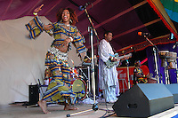 African Dancer at Starbelly Jam Music Festival, Crawford Bay, BC