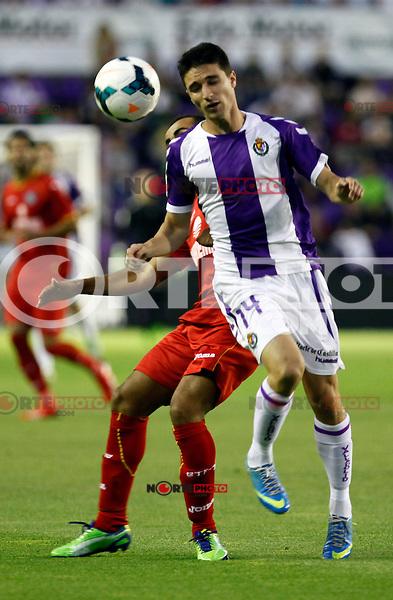 Real Valladolid´s Omar during La Liga match.August 31,2013. (ALTERPHOTOS/Victor Blanco)