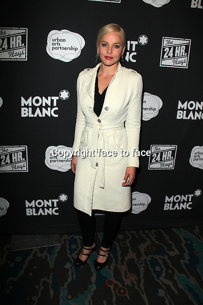 SANTA MONICA, CA - June 20: Abbie Cornish at The 24 Hour Plays Los Angeles After-Party, Shore Hotel, Santa Monica, June 20, 2014. Credit: Janice Ogata/MediaPunch<br />