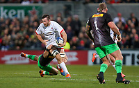 Saturday 7th December 2019 | Ulster Rugby vs Harlequins<br /> <br /> Alan O'Connor during the Heineken Champions Cup Round 3 clash in Pool 3, between Ulster Rugby and Harlequins at Kingspan Stadium, Ravenhill Park, Belfast, Northern Ireland. Photo by John Dickson / DICKSONDIGITAL