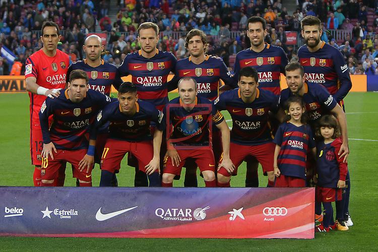 League BBVA 2015/2016 - Game: 35.<br /> FC Barcelona vs Real Sporting: 6-0.