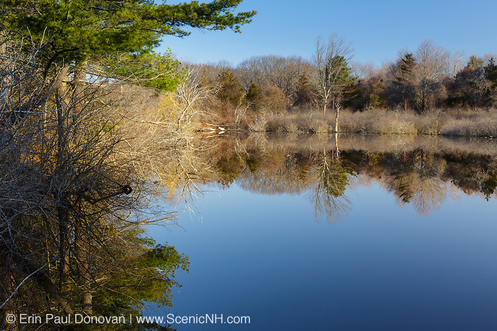 Odiorne Point State Park in Rye, New Hampshire USA during the spring months.