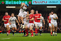 Pictured: Jack Nowell of England in action during the Guinness six nations match between Wales and England at the Principality Stadium, Cardiff, Wales, UK.<br /> Saturday 23 February 2019