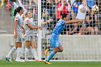 Bridgeview, IL - Sunday September 03, 2017: Yuki Nagasato during a regular season National Women's Soccer League (NWSL) match between the Chicago Red Stars and the North Carolina Courage at Toyota Park. The Red Stars won 2-1.