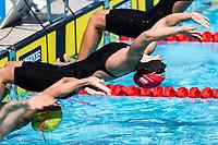 Picture by Alex Whitehead/SWpix.com - 08/04/2018 - Commonwealth Games - Swimming - Optus Aquatics Centre, Gold Coast, Australia - Jessica Fullalove of England competes in the Women's 200m Backstroke heats.