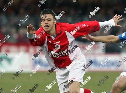2010-03-13 / Voetbal / seizoen 2009-2010 / KV Turnhout - R. Antwerp FC / Franky Pelgrims..Foto: Mpics