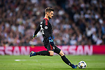 Goalkeeper Sven Ulreich of FC Bayern Munich in action during the UEFA Champions League Semi-final 2nd leg match between Real Madrid and Bayern Munich at the Estadio Santiago Bernabeu on May 01 2018 in Madrid, Spain. Photo by Diego Souto / Power Sport Images