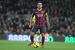 14.12.2013. Barcelona, Spain. La Liga, day 16. Picture show Xavi Hernandez  in action during match between FC Narcelona against Villareal at Camp Nou