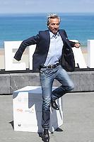 Actor Imanol Arias poses during `Eva no duerme´ film presentation at 63rd Donostia Zinemaldia (San Sebastian International Film Festival) in San Sebastian, Spain. September XX, 2015. (ALTERPHOTOS/Victor Blanco) /NortePhoto.com