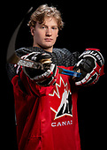 Dawson Creek, BC - Dec 9 2019: Canada West at the 2019 World Junior A Championship at the ENCANA Event Centre in Dawson Creek, British Columbia, Canada. (Photo by Matthew Murnaghan/Hockey Canada)