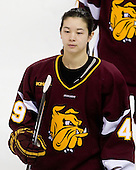 Jessica Wong (Minnesota-Duluth - 49) - The University of Minnesota-Duluth Bulldogs defeated the Boston College Eagles 3-0 on Friday, November 27, 2009, at Conte Forum in Chestnut Hill, Massachusetts.