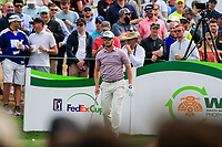Chris Stroud (USA) on the 11th tee during the 3rd round of the Waste Management Phoenix Open, TPC Scottsdale, Scottsdale, Arisona, USA. 02/02/2019.<br /> Picture Fran Caffrey / Golffile.ie<br /> <br /> All photo usage must carry mandatory copyright credit (© Golffile | Fran Caffrey)