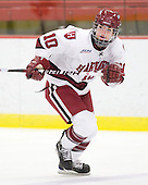 Anna McDonald (Harvard - 10) - The Harvard University Crimson defeated the Northeastern University Huskies 1-0 to win the 2010 Beanpot on Tuesday, February 9, 2010, at the Bright Hockey Center in Cambridge, Massachusetts.