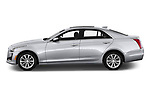 Car driver side profile view of a 2019 Cadillac CTS Luxury 4 Door Sedan