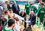 S&ouml;dert&auml;lje 2015-10-20 Basket Basketligan S&ouml;dert&auml;lje Kings - Bor&aring;s Basket :  <br /> S&ouml;dert&auml;lje Kings tr&auml;nare headcoach coach Vedran Bosnic under en timeout under matchen mellan S&ouml;dert&auml;lje Kings och Bor&aring;s Basket <br /> (Foto: Kenta J&ouml;nsson) Nyckelord:  S&ouml;dert&auml;lje Kings SBBK T&auml;ljehallen Bor&aring;s Basket tr&auml;nare manager coach