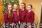 Jemma Carney, Ave O'Sullivan, Muireann Mangan and Emma O'Regan from Muire Gan Smal, Castleisland at the Tralee Credit Union Primary Schools Quiz, held at Ballyroe Heights Hotel on Sunday