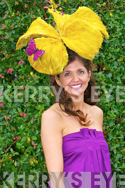Carol Kennelly at Killarney Races at Ladies Day on Thursday at the Killarney Races. .
