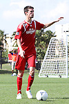 January 13, 2013: Eric Schoenle (West Virginia). Day 2 of the Combine. The 2013 adidas MLS Player Combine was held January 11-15, 2013 at Central Broward Regional Park in Lauderhill, Florida.