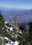 View from top of Palm Springs Aerial Tram