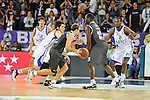 MADRID, Spain (19/01/11). Euroliga de baloncesto. Partido 1 del top 16, grupo G. Euroleague Basketball, Game 1 Top 16, Group G. Real Madrid vs Partizan MT:S..©Raul Perez .