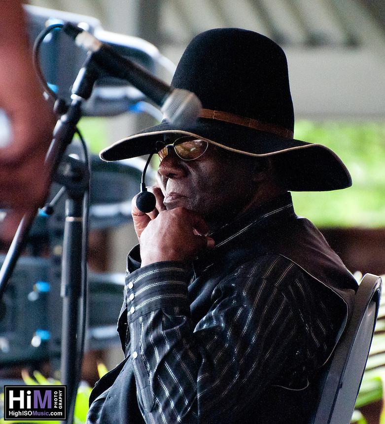 Ebony Hillbillies play the first weekend of Jazz Fest in 2009.