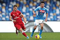 Hirving Lozano of Napoli<br /> Napoli 14-01-2020 Stadio San Paolo <br /> Football Italy Cup 2019/2020 SSC Napoli - AC Perugia<br /> Photo Cesare Purini / Insidefoto